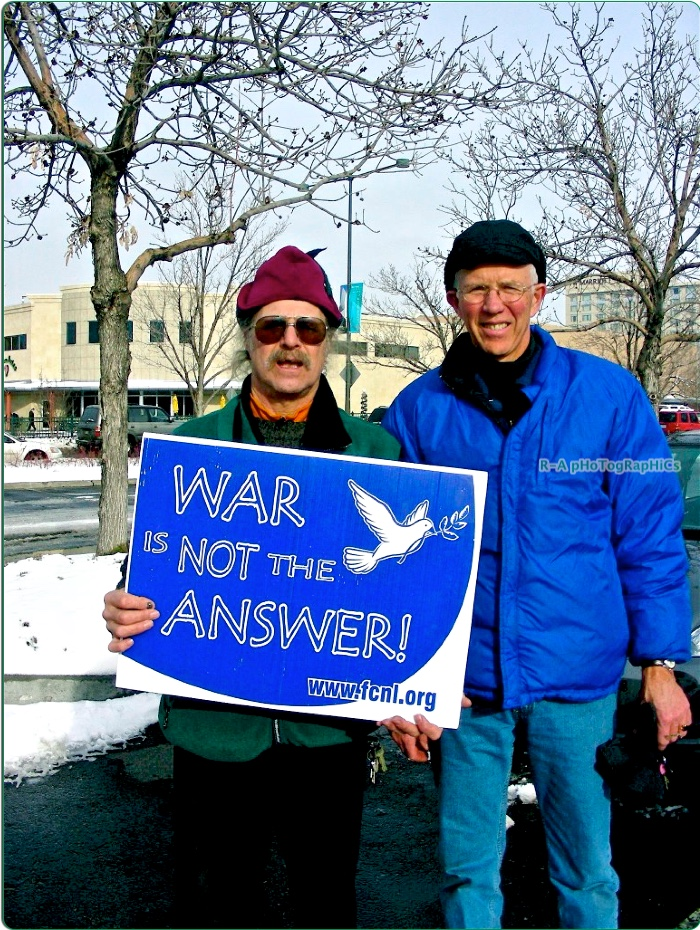 #10  War Is Good For 'neurotics' That's Why We Anti War People PRotest Against… (12.5H X 9.5W) Edited 8 20 12 @ SRC..